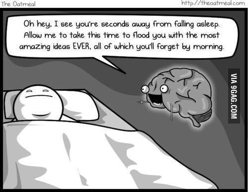 Exactly how my brain works.