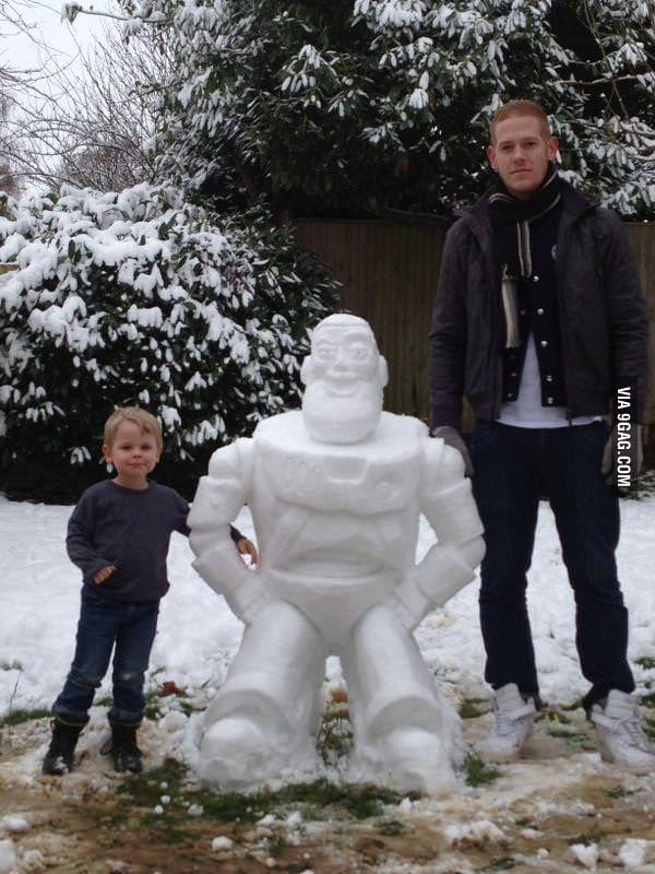 Because British snowman is too mainstream..