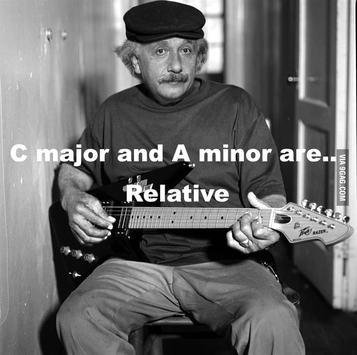 Relativity as a musician
