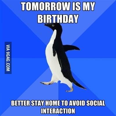 Thoughts day before my birthday
