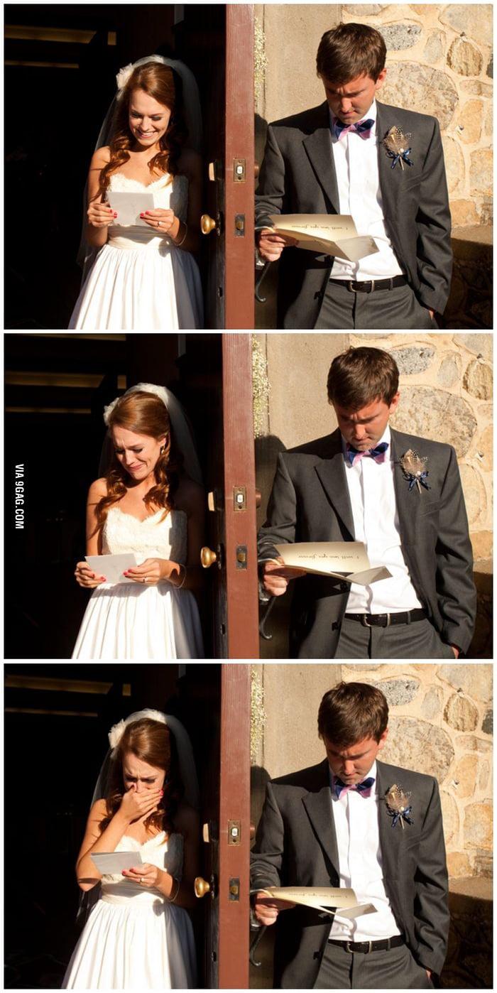 Love letters: Man vs Woman