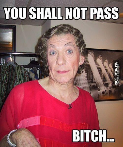 Gandalf the gay...