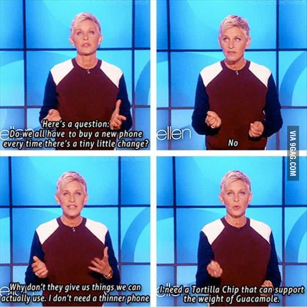 Ellen speaks nothing but the truth!