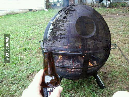 Amazing Death Star Grill!