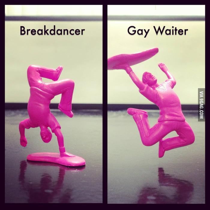 The secret life of a breakdancer.