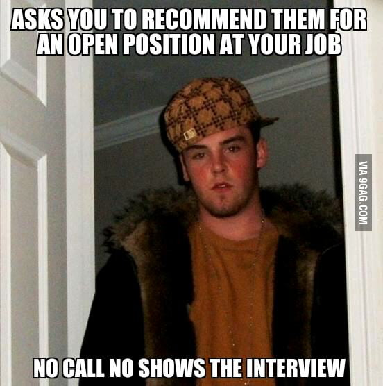 Scumbag Steve almost got me fired.