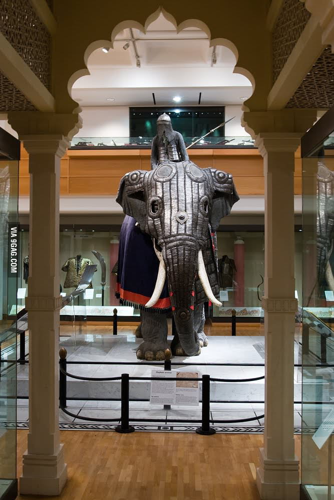 Indian War Elephant Armor