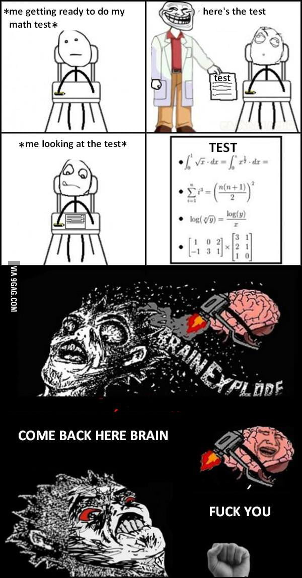 Every. Math. Test.