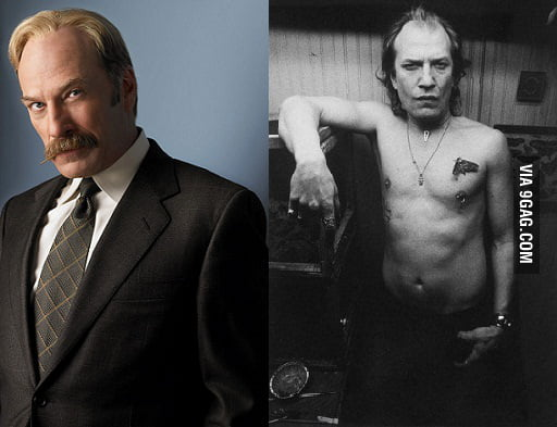 Ted Levine As Leland Stottlemeyer And Buffalo Bill