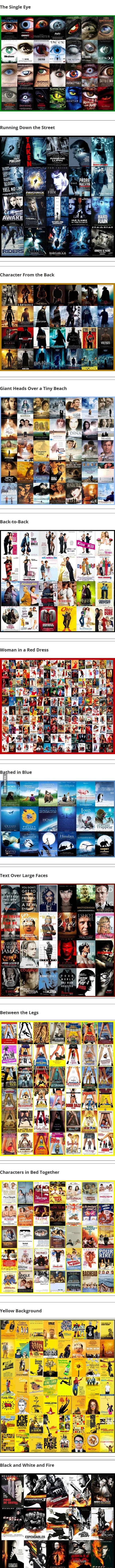 12 Movie Poster Cliches