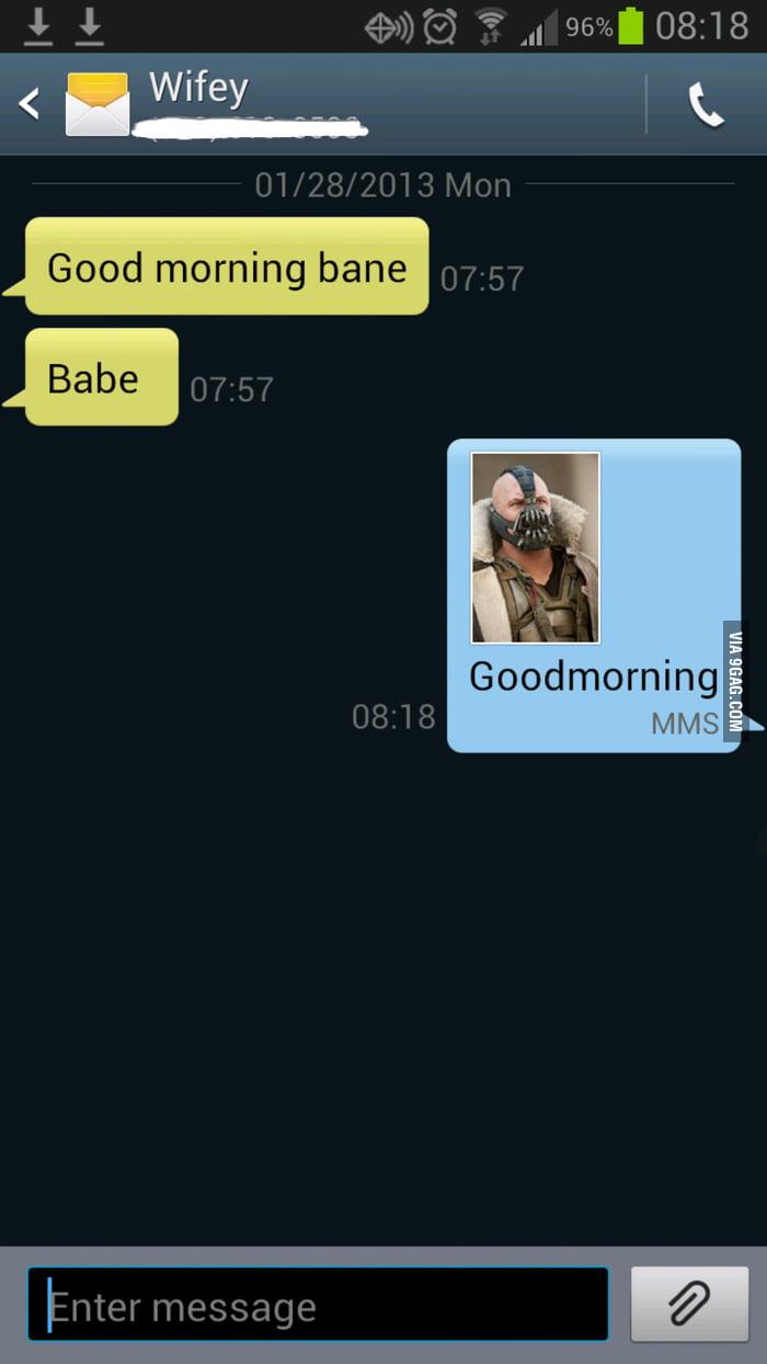 Good morning Bane..