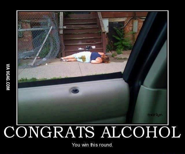 Some people just can't survive after a party...