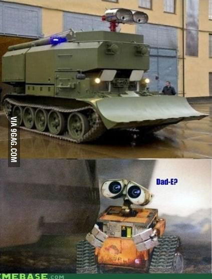 Wall-e's daddy