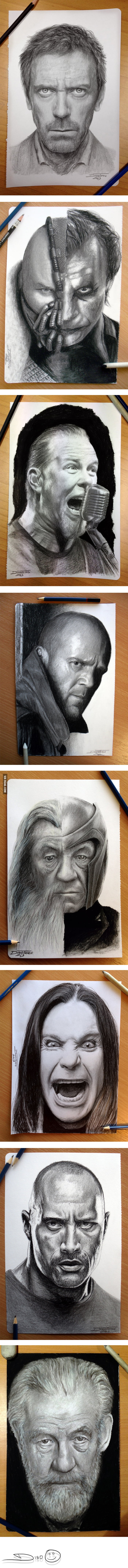Some epic drawings