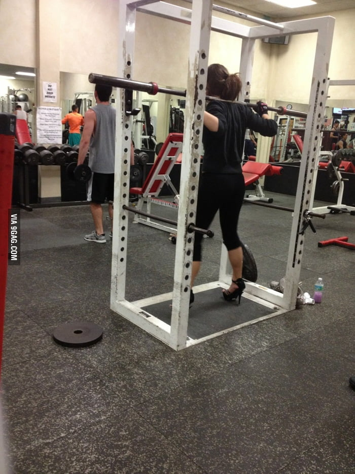 Saw her at the gym today