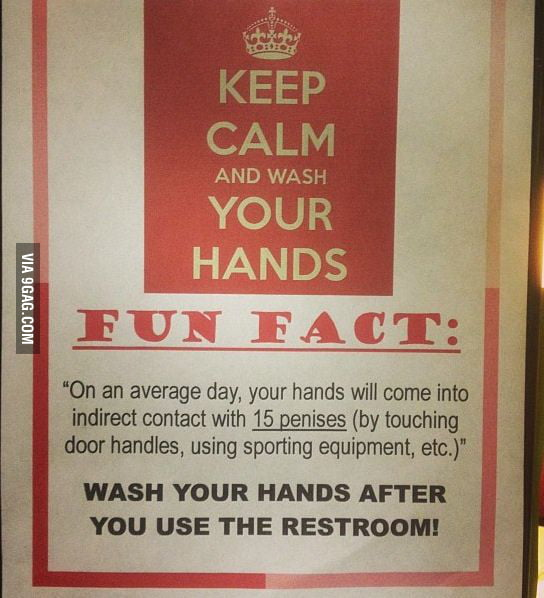 Fun Fact at the restroom.