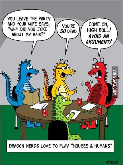 In a parallel universe. Nerd Dragons