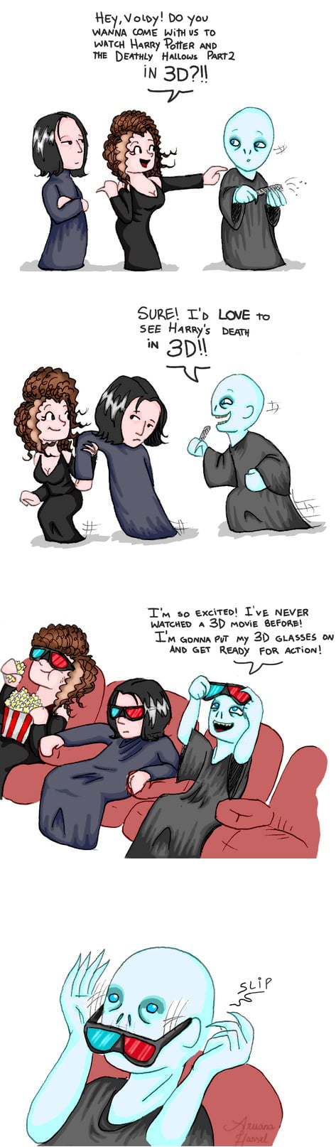 Scumbag Snape and Bellatrix