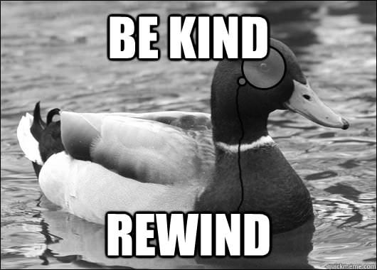 Outdated Advice Mallard