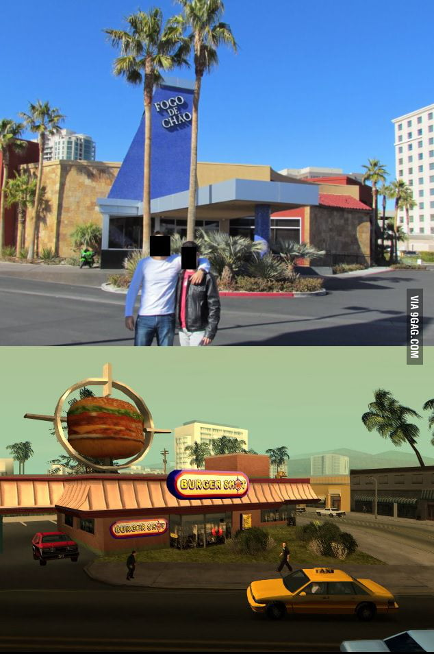 Doesn't this remind you of GTA San Andreas?