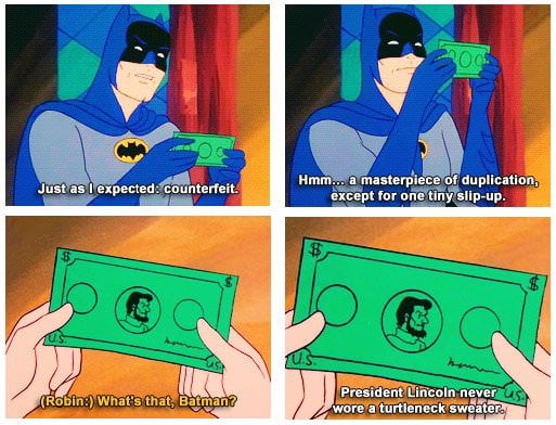 Batman is a genius