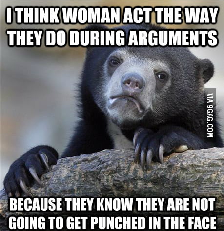 I think woman...