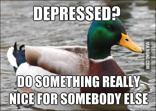 Actual Advice Mallard on The Blues