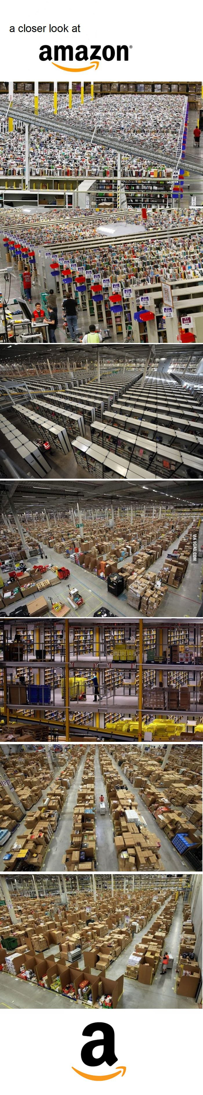 Amazon from inside...amazing