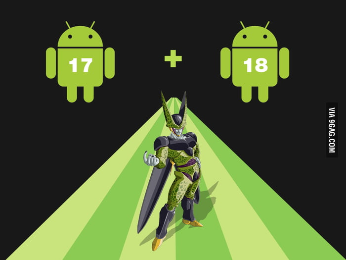 Android + Android = Cell!