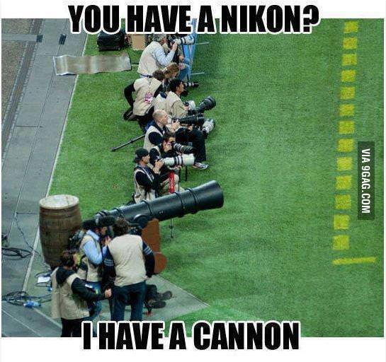 So you have a Nikon?