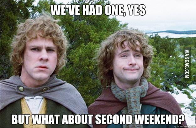 Every Monday...