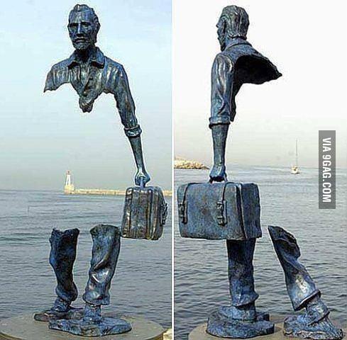 sculpture invisible
