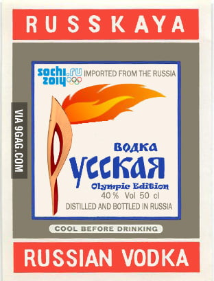 Russian Vodka - Olympic Edition