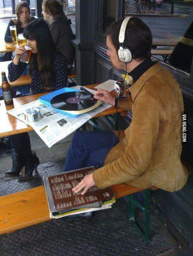 This takes hipster to a whole new level..