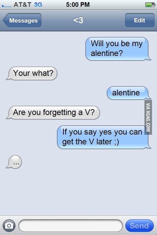 Will You Be My Alentine?