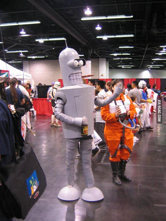 Bender cosplay