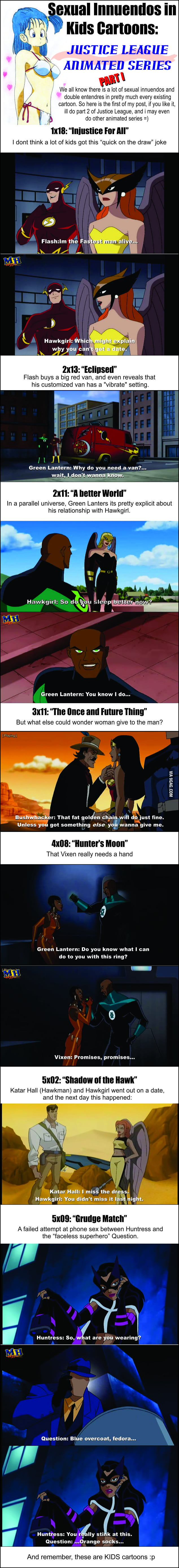 Sexual innuendos in cartoons 9gag