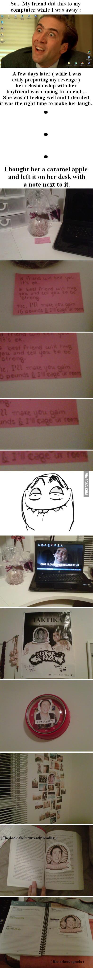 Revenge is so sweet...