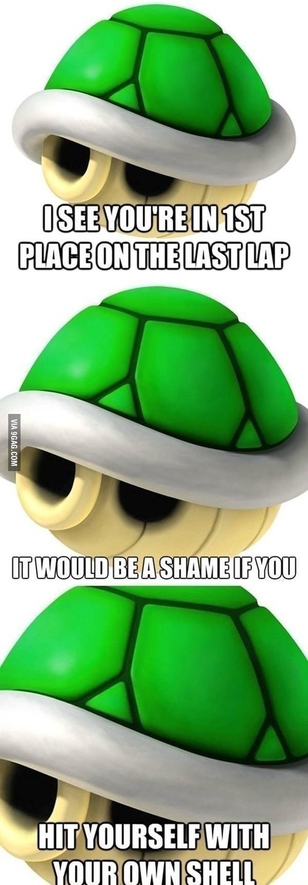 Mario Kart rage