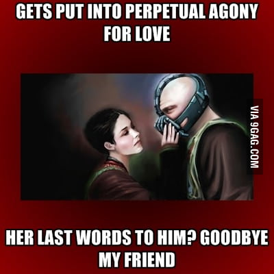 Friendzoned Bane (just another reason to love him)