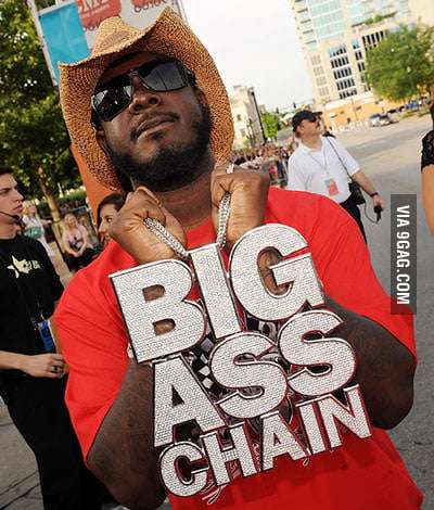 That is a big ass chain