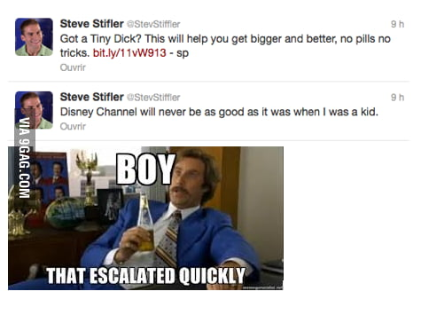 Steve being Steve