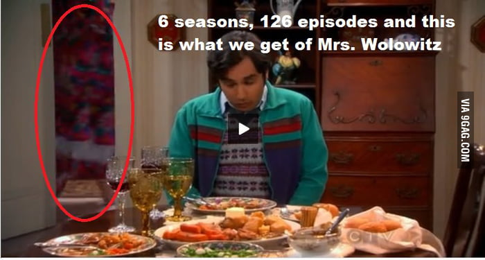 May I introduce you to: Mrs. Wolowitz,