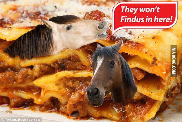 And they did... (the Findus scandal)
