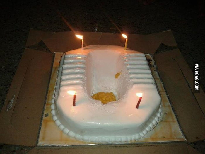 Worst Birthday Cake Ever 9gag
