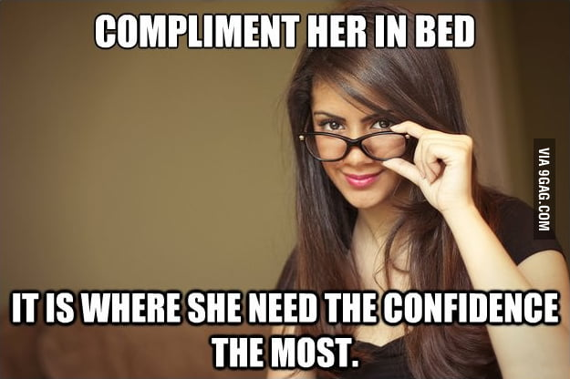Actual Sexual Advice Girl on Confidence