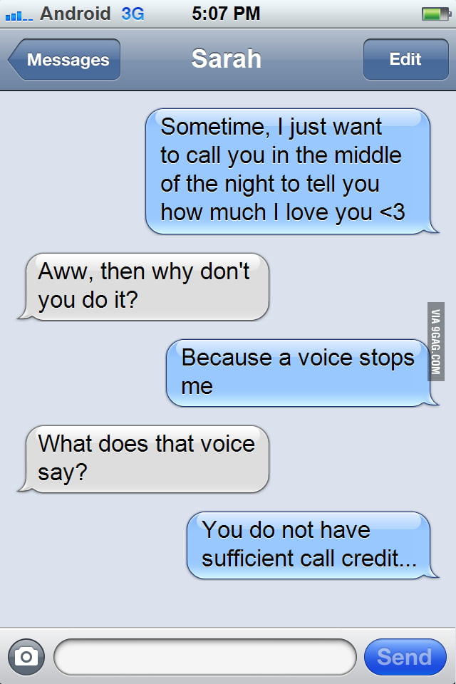 I can hear voices...