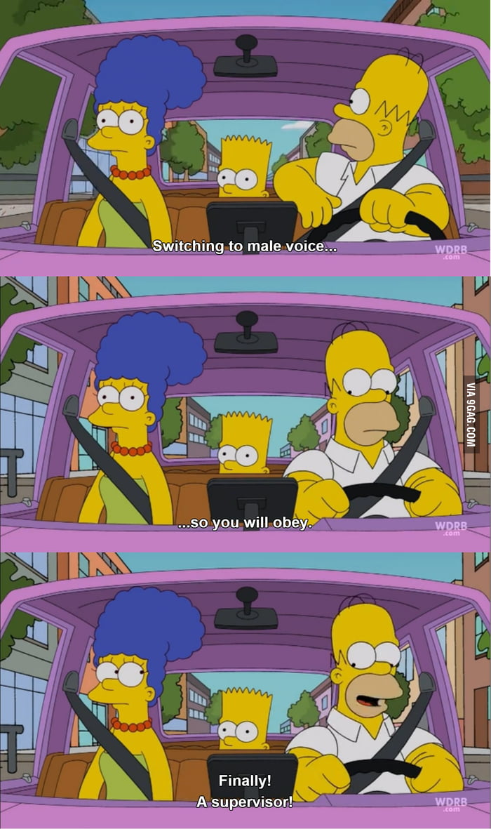 Homer's thought about navigation.