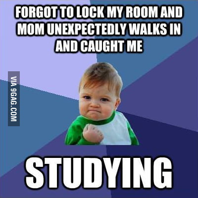 Happened to me last night