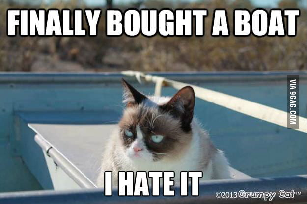Stupid boat